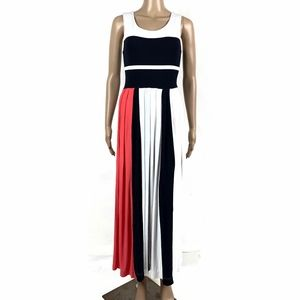 French Connection Medina Dress Striped Maxi
